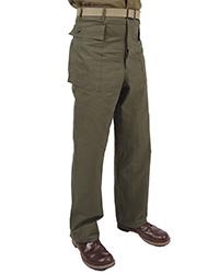 Dark Shade Army HBT Trouser