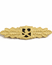 Close Combat Clasp, Gold