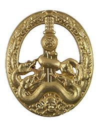 Anti-Partisan Badge, Gold