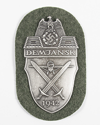 """Demjansk"" Campaign Shield"