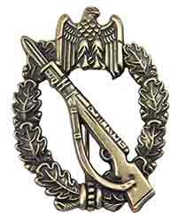 Infantry Assault Badge, Bronze