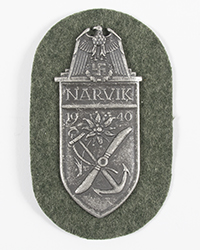 """Narvik"" Campaign Shield"