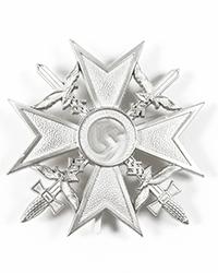 Spanish Cross, Silver