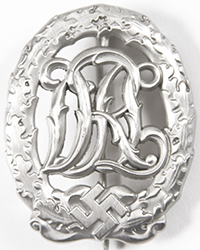 DRL Sports Badge, Silver