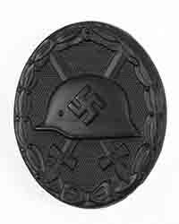 WWII Wound Badge, Black