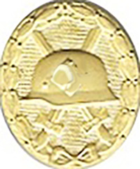 WWII Wound Badge, Gold