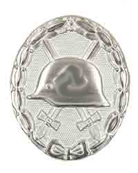 WWII Wound Badge, Silver
