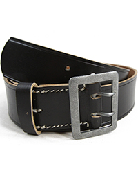 2-Claw Officer Belt, Black