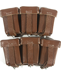K98 Pouches, Brown (pair)