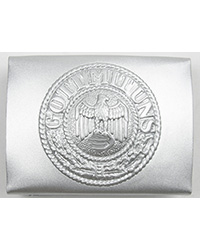 Heer EM Belt Buckle, Silver