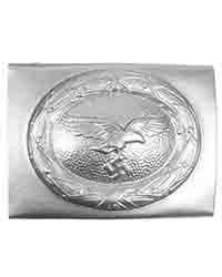 Luftwaffe EM Belt Buckle, Silver