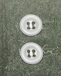 17mm Dished Metal Buttons