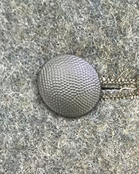 19mm Pebbled Tunic Buttons, Fieldgray