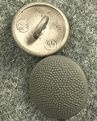 19mm SS RZM Buttons, Fieldgray