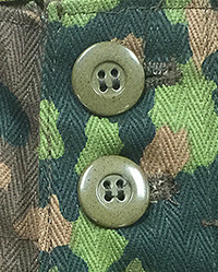 Original Tan Urea Buttons