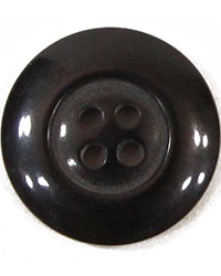 21mm Black Urea Buttons