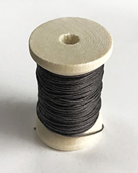 Gray Linen Cord for button sewing
