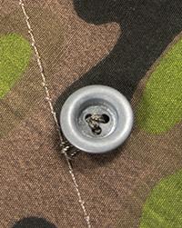 Cast Zinc Zeltbahn Buttons