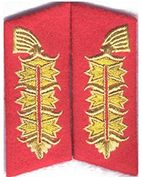 Field Marshal Collar Tabs