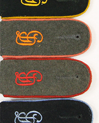 """Grossdeutschland"" EM Shoulder Boards"