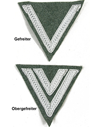 Heer Rank Chevron, Mid-War
