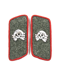 Heer Assault Gun Collar Tabs