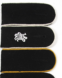 Waffen SS EM Shoulder Boards
