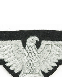 SS EM Sleeve Eagle, Embroidered