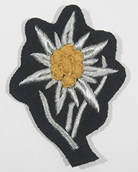 Officer Mountain Troop Cap Insignia