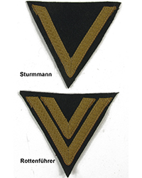 Rank Chevrons, Tropical