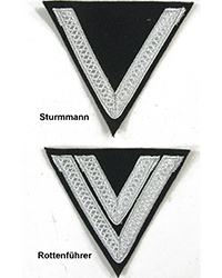 Rank Chevrons, Silver