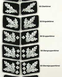SS High Officer Collar Tabs