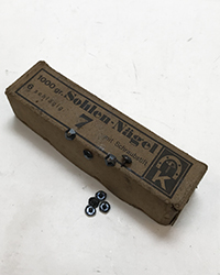 Original German Hobnails, box, 1kg