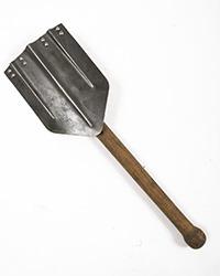 """Original WWII Folding Shovel, """"BOVO"""""""