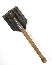 Original WWII German Folding Shovel, BOVO