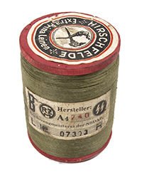 WWII German Thread Spool, Olive