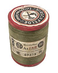 WWII German Thread Spool, Olive
