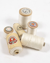 WWII German Thread Spool, White