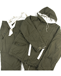 WWII Waffen SS Fieldgray reversible Winter Parka & Trouser | ATF