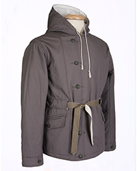 WWII German Mouse Gray Parka