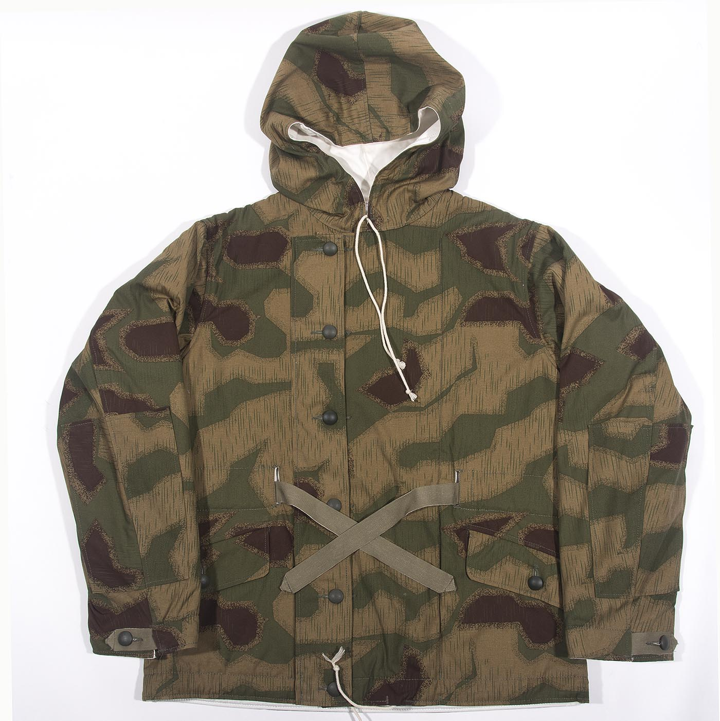 0e2895fdbad WWII German Marsh Camo Parka-reversible to white