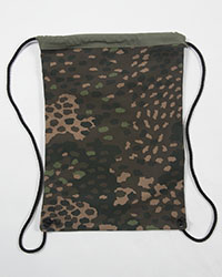 44 Dot Camo Cinch Bag