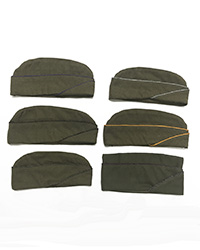 Garrison Caps with piping