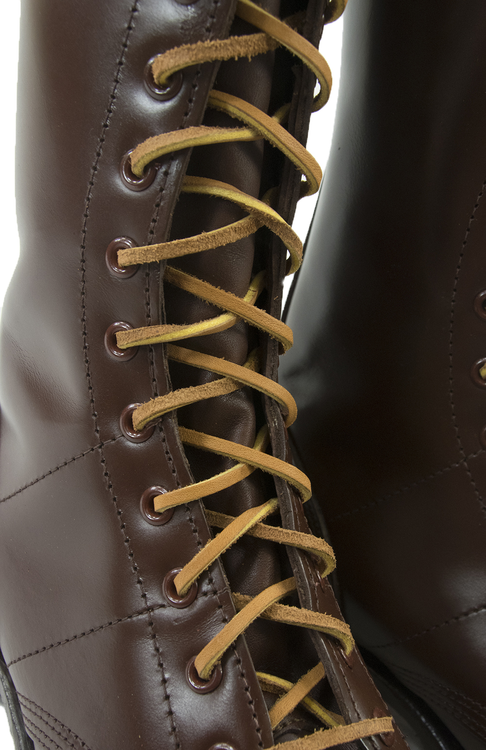 72'' Leather Laces for Paratrooper Boots
