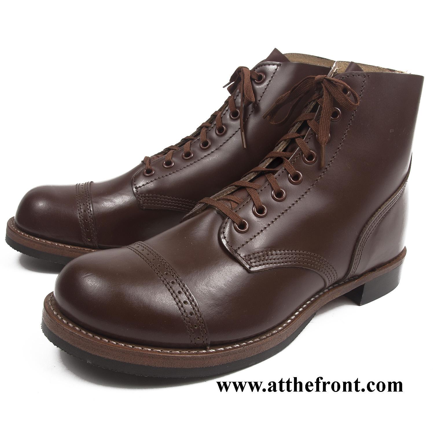 c29bef91e7da5 US WWII Service Shoes, Type II - Made in USA
