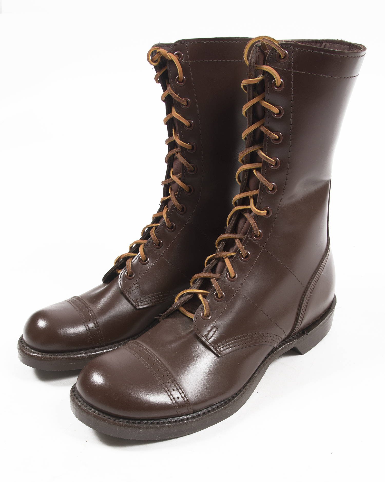Wwii Corcoran Brown Jump Boots