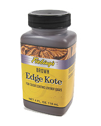 Fiebings Edge Kote, Brown