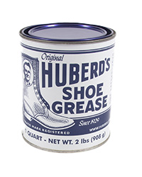 Huberd's Shoe Grease, Quart can