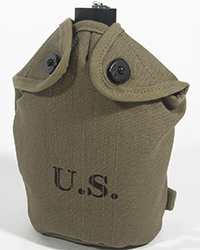M1941 Canteen Cover, Mounted