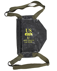 M7 Assault Gas Mask Bag, OD straps